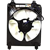 Evan-Fischer EVA24672017504 New Direct Fit A/C Condenser Fan Assembly for CIVIC 06-11 1.8L Eng. Coupe/Sedan