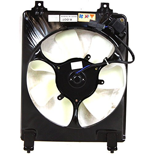 A/C Condenser Fan Assembly for Honda Civic 06-11 1.8L Eng. - Condenser A/c Honda Fan