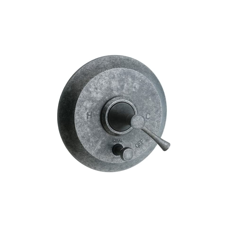 Cifial 245.611.D20 Brookhaven Pressure Balance Shower Valve with Diverter and Crown Lever Handle, Distressed Nickel