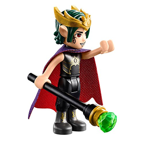 LEGO Elves MiniFigure - Goblin King (w/ Staff) From Set 41183 (Lego Minifigure Goblin)