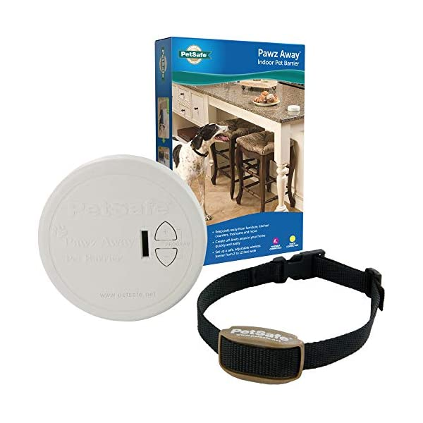 PetSafe Pawz Away Pet Barriers with Adjustable Range, Pet Proofing for Cats and Dogs, Static Stimulation – Wireless Pet…