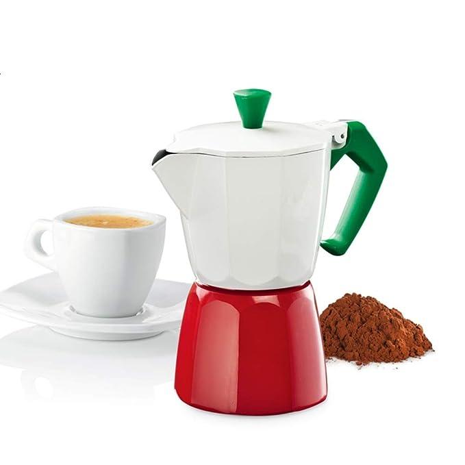 Cafetera Espresso Cafetera Moka Pot Hecha a Mano del pote ...