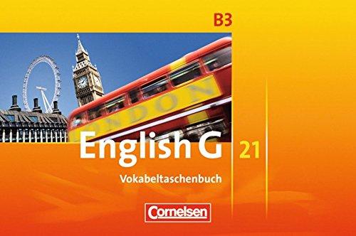 English G 21 - Ausgabe B: Band 3: 7. Schuljahr - Vokabeltaschenbuch