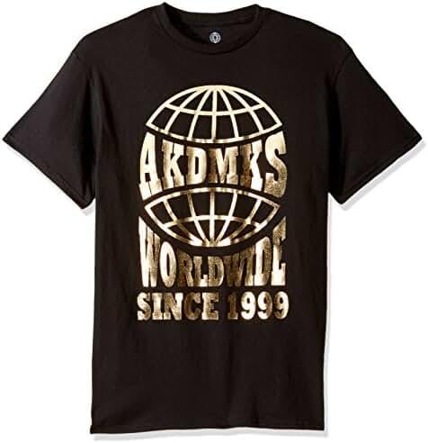 Akademiks Men's Worldwide Graphic T-Shirt