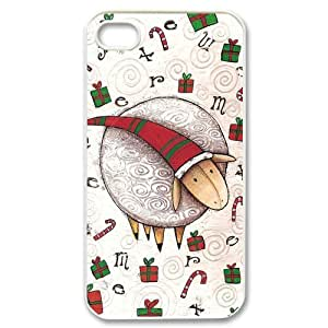 Gdragonhighfive iphone 4 case Christmas Classics Lovely Style Pattern iphone 4s case