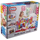Little Tikes Waffle Blocks (Castle) Building Kit, 18 Piece