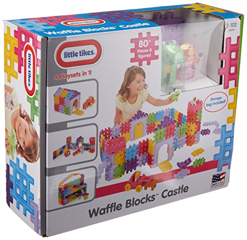 - Little Tikes Waffle Blocks - Castle