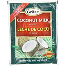 Grace Coconut Milk Powder Envelope, 1.76-Ounce (50g)  (Pack of 12)
