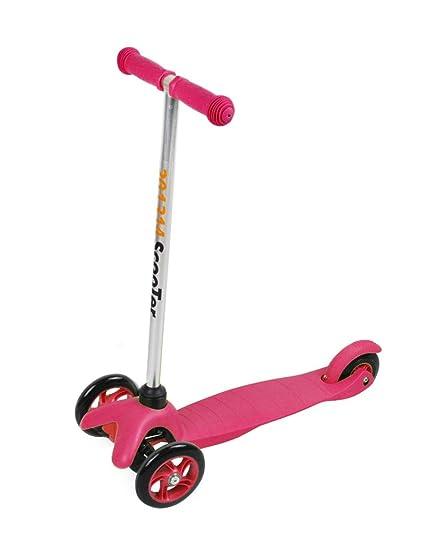 Triciclo patinete rosa infantil Tri - Scooter patinete ...