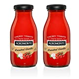 Agromonte Authentic Italian Cherry Tomato Sauce (Roasted Garlic, 2 Pack)