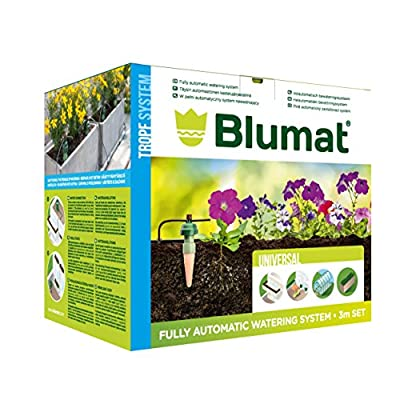 Blumat Pre Designed 4' x 8' Raised Bed Kit - Automatic Drip Irrigation Watering System