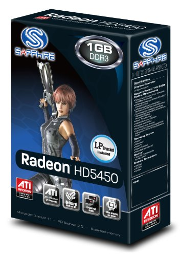 Sapphire Radeon HD 5450 1 GB DDR3 HDMI/DVI-D/VGA PCI-Express Graphics Card 100292DDR3L by Sapphire Technology (Image #4)