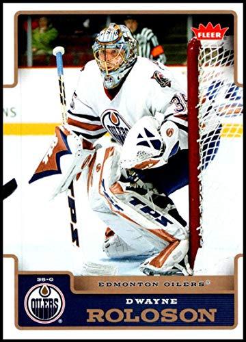 2006-07 Fleer #78 Dwayne Roloson NM-MT Edmonton Oilers Official NHL Hockey Trading Card -