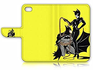 iPhone 6 6S (4.7') Flip Wallet Case Cover & Screen Protector & Charging Cable Bundle! A4295 Catwoman Batman at Gotham City Store