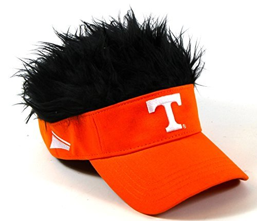 The Northwest Company NCAA Tennessee Volunteers Flair Hair Adjustable Visor, Orange