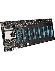 BTC-S37 Pro Mining Moderkort 8 PCIE 16X Grafkort SODIMM DDR3 SATA3.0 Stöd VGA + HDMI-kompatibel för BTC Miner Maskin Tillbehör