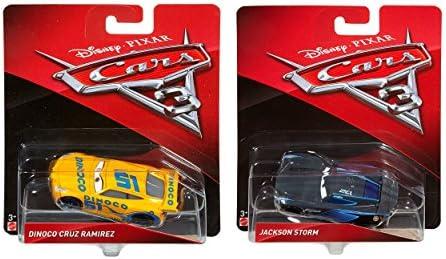 Pack Regalo Original 2 Coches Disney Cars 3 (Dinoco Cruz Ramirez, Jackson Storm): Amazon.es: Juguetes y juegos