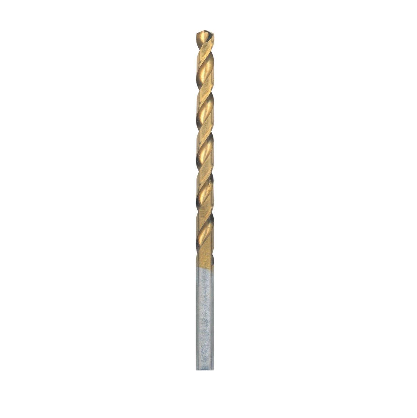 Bosch TI4138 12-Piece 11/64 In. x 3-1/4 In. Titanium-Coated Drill Bit