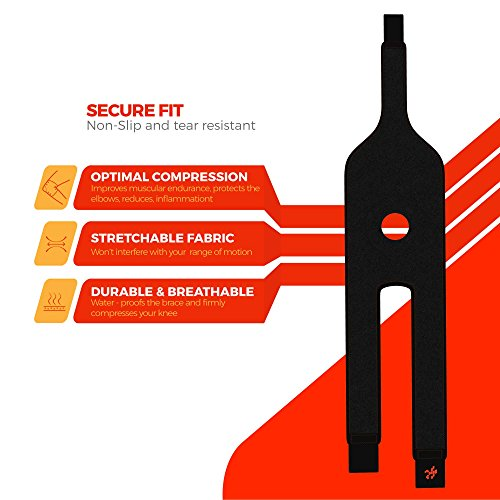 Uflex Best Open Patella Knee Brace & Support