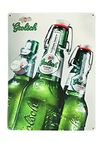 Grolsch Lager Metal Tacker Beer Sign Grolsch Lager