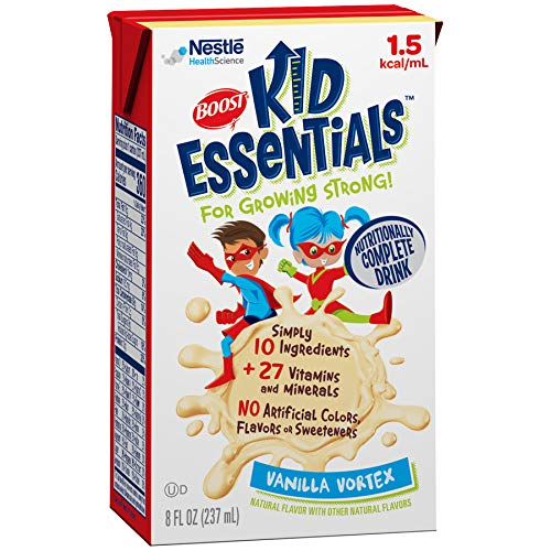 B001W6RGQC Boost Kid Essentials 1.5 Nutritionally Complete Drink, Very Vanilla, 8 Ounces (Pack of 27) 516tbjGN7xL