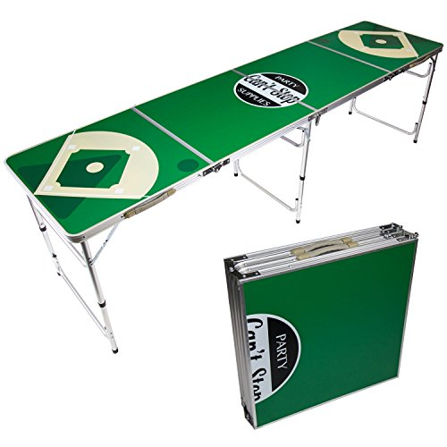 Can't Stop Party Supplies Portable Beer Pong Table Easily Foldable - Beer Bottles