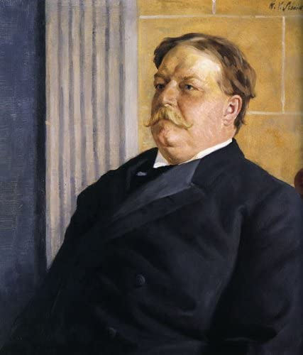 WILLIAM HOWARD TAFT AMERICAN PRESIDENT PORTRAIT USA PAINTING REPRO