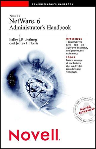Novell's Netware 6 Administrator's Handbook-cover