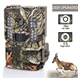 Wosports Trail Camera 16MP 1080P Hunting Game Camera