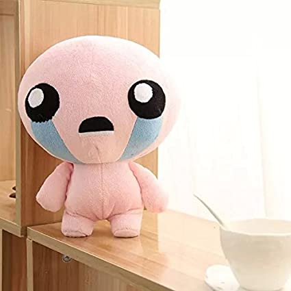 1pcs 25CM The Binding of Isaac Rebirth Game Character Isaac Plush Doll Stuffed Toys for kids