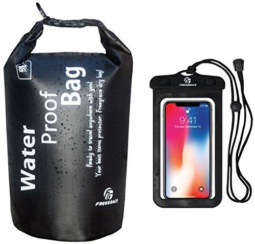 Freegrace Waterproof Bag for Boating, Kayaking, Hiking, Snowboarding, Camping, Rafting, Fishing