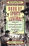 Book of Sports Legends, Joseph J. Vecchione, 0671760394