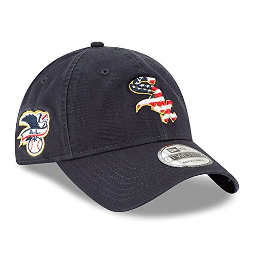 New Era Chicago White Sox 2018 July 4th Stars and Stripes 9TWENTY Adjustable (New Era Stars)