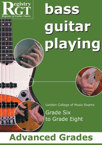 Guitar Playing Exam Book (Bass Guitar Playing, Grades 6 To 8 Advanced)