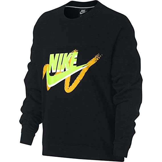 Nike Sportswear Archive Sweat Femme Noir  Amazon.fr  Vêtements et ... b32d299ae7b8