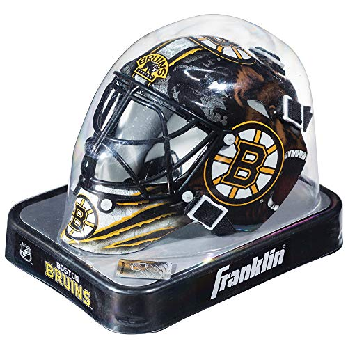 Boston Bruins Goalie - Franklin Sports NHL Boston Bruins Franklin Mini Goalies Mask