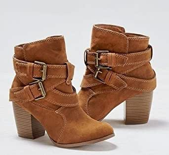 Amazon.com: size 6.5 Autumn Winter Women Boots Casual