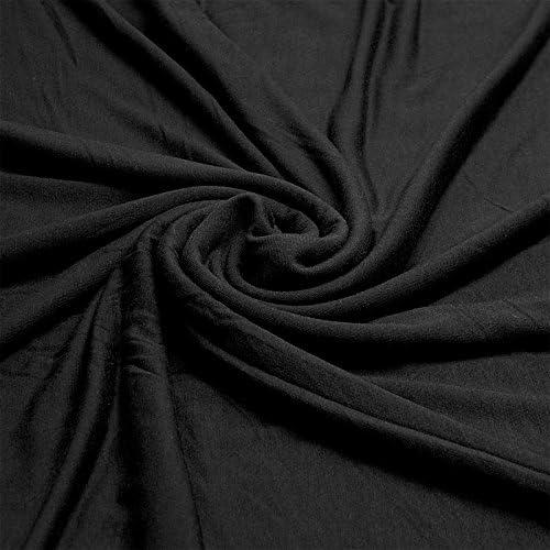 Tela elástica de elastano, viscosa, 150 cm de ancho por metro ...