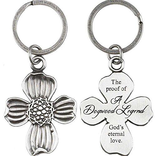 Dogwood Legend Proof of Gods Eternal Love Metal Cross Pendant (Cross Pendant Key Ring)
