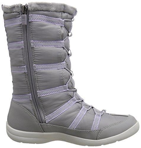 Easy Spirit Womens Boot Invernale Invernale Grigio Chiaro Multi