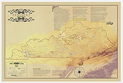 Kentucky bourbon [distilleries and notes from the trail 24x36]
