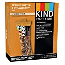 KIND Bars, Peanut Butter & Strawberry, Gluten Free, 1.4 Ounce Bars, 12 Count