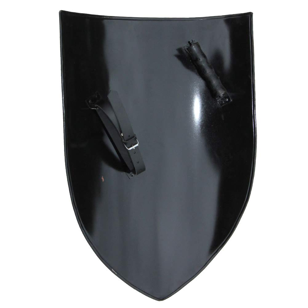 Armory Replicas Heater Canterbury Cathedral Medieval Shield Black by Armory Replicas (Image #4)