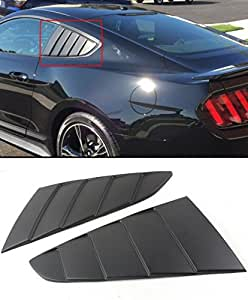 For Ford Mustang 2015-16 GT C Style Side Vent Window Quarter Scoop Louver Cover