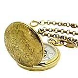 E-future-Pure-Brass-Vintage-Skeleton-Unisex-Roman-Gold-Mechanical-Chain-Pocket-Watch