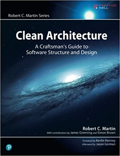 Portada libro Clean Architecture: A Craftsman's Guide to Software Structure and Design