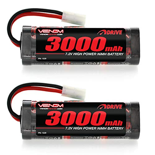Venom 7.2v 3000mAh 6-Cell NiMH Battery for Roto Start and Starter Boxes x2 Packs
