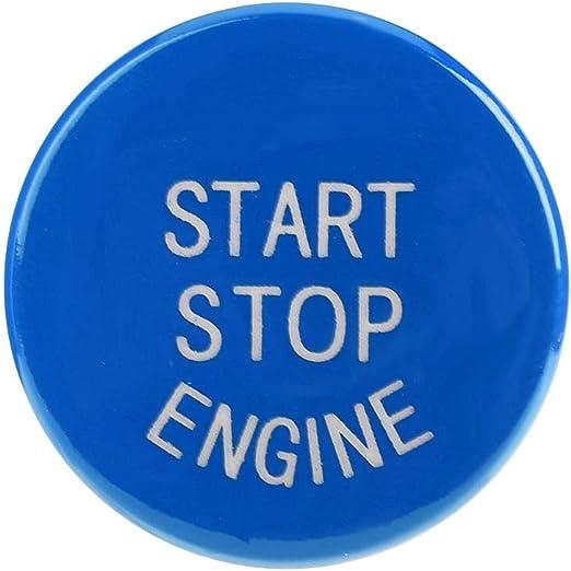 Car Engine Ein Knopf Startknopf Für F30 G F Disk Bottom Mit Start Stop Blau Auto
