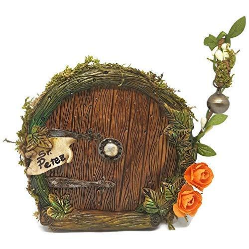 Puerta hobbit,hada o ratoncito pérez,con cartel para poner ...