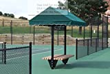 Tennis Court Seating - Har Tru Cabana Bench 10'